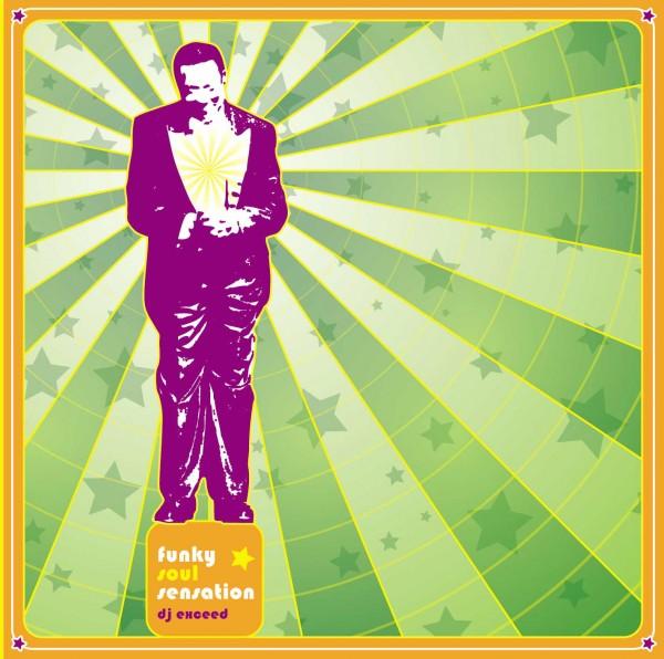 Dj Exceed - A Funky Soul Sensation (Front)